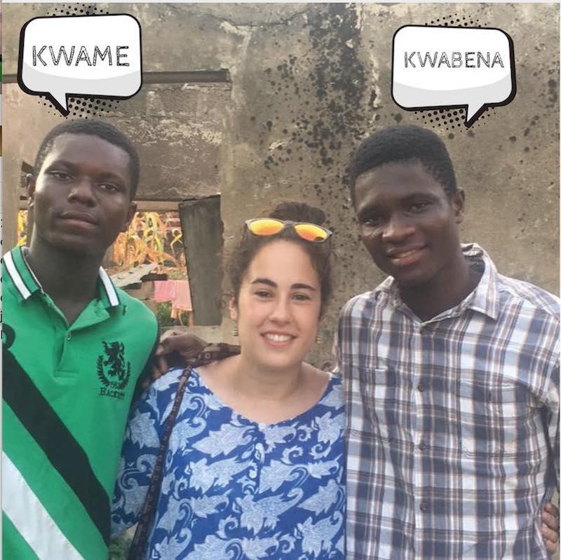 """Desde el lanzamiento del Chachepó Excelsior colaboramos frecuentemente con la ONGD HOLA GHANA en la construcción del """"Asuoya Learning Centre"""". Prueba de que el Chachepó Excelsior ha trascendido fronteras internacionales es que viajamos a Ghana en 2018 y 2019, como parte de una estancia de cooperación."""
