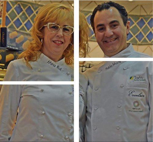Pablo Moris y Mina Rull, de Pastelería Excelsior de Linares