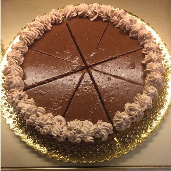 Tarta de trufa con chocolate Pastelería Excelsior Linares