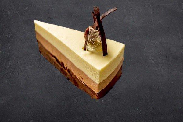 Tarta tres chocolates Pastelería Excelsior Linares